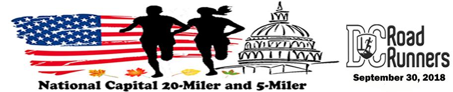 National Capital 20 Miler & 5 Miler