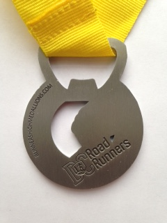 55th medal back