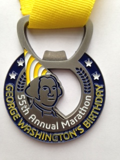 55th medal front